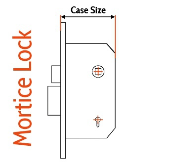 Lock Case Size Diagram
