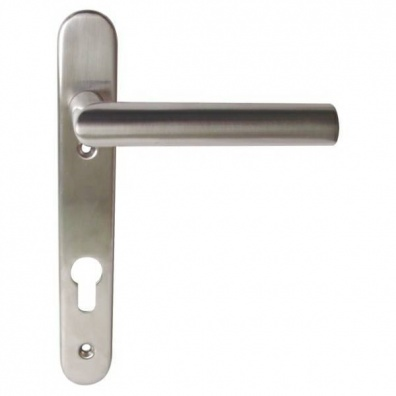 Stainless Steel Oval uPVC Door Handles - Multi-Point | Hafele