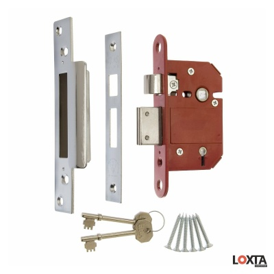 KT30099 Fortress High Security 5 Lever Mortice Sashlock, BS3621 Rated