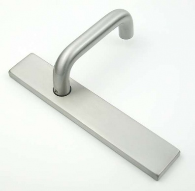 Return To Door Handle on 230mm Concealed Latch Plate | Loxta