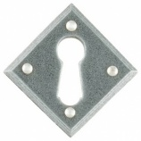 Diamond Keyhole Escutcheon