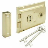 Brass Rim Lock - Multiple Finishes | Hafele