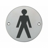 Male WC Graphic Door Sign