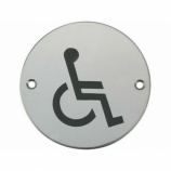 Disabled WC Graphic Door Sign