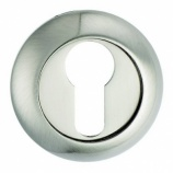 Euro Profile Round Raised Escutcheon
