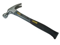 Fibreglass Curved Claw Hammer, 450g