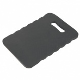 Black Kneeling Mat, Memory Foam Support